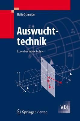 Auswuchttechnik By Schneider, Hatto